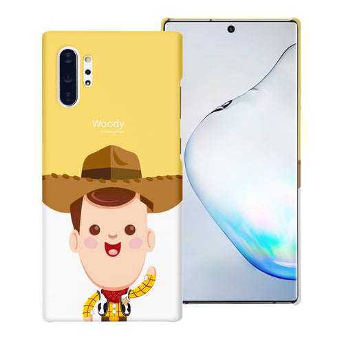 Galaxy Note10 Case (6.3inch) [Slim Fit] Toy Story Thin Hard Matte Surface Excellent Grip Cover - Baby Woody