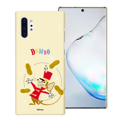 Galaxy Note10 Plus Case (6.8inch) [Slim Fit] Disney Dumbo Thin Hard Matte Surface Excellent Grip Cover - Dumbo Timothy