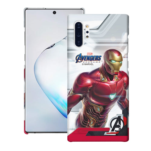 Galaxy Note10 Case (6.3inch) Marvel Avengers [Slim Fit] Thin Hard Matte Surface Excellent Grip Cover - End Game Iron Man