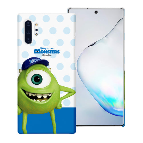 Galaxy Note10 Case (6.3inch) [Slim Fit] Monsters University inc Thin Hard Matte Surface Excellent Grip Cover - Movie Mike
