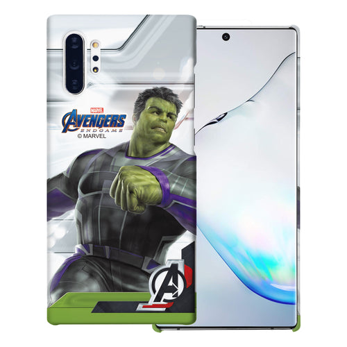 Galaxy Note10 Case (6.3inch) Marvel Avengers [Slim Fit] Thin Hard Matte Surface Excellent Grip Cover - End Game Hulk