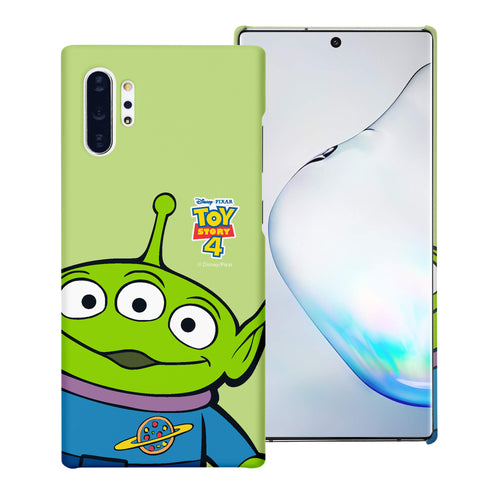 Galaxy Note10 Case (6.3inch) [Slim Fit] Toy Story Thin Hard Matte Surface Excellent Grip Cover - Wide Alien