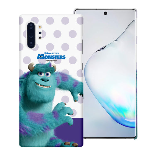 Galaxy Note10 Case (6.3inch) [Slim Fit] Monsters University inc Thin Hard Matte Surface Excellent Grip Cover - Movie Sulley