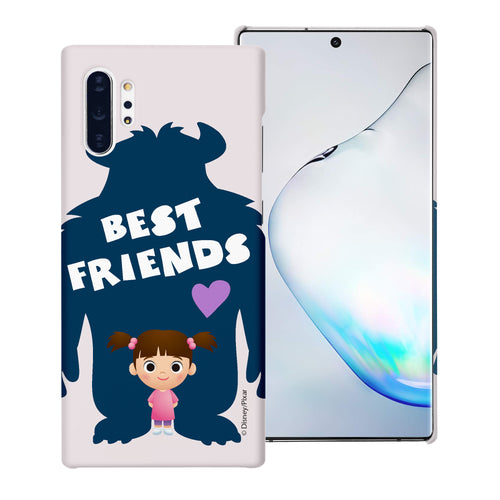 Galaxy Note10 Case (6.3inch) [Slim Fit] Monsters University inc Thin Hard Matte Surface Excellent Grip Cover - Simple Boo