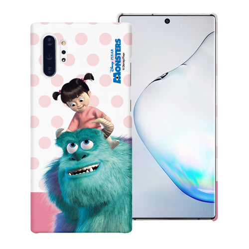 Galaxy Note10 Case (6.3inch) [Slim Fit] Monsters University inc Thin Hard Matte Surface Excellent Grip Cover - Movie Boo