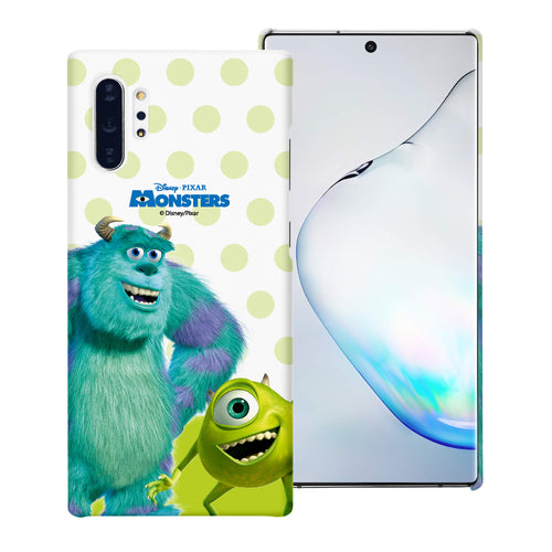 Galaxy Note10 Case (6.3inch) [Slim Fit] Monsters University inc Thin Hard Matte Surface Excellent Grip Cover - Movie Mike Sulley