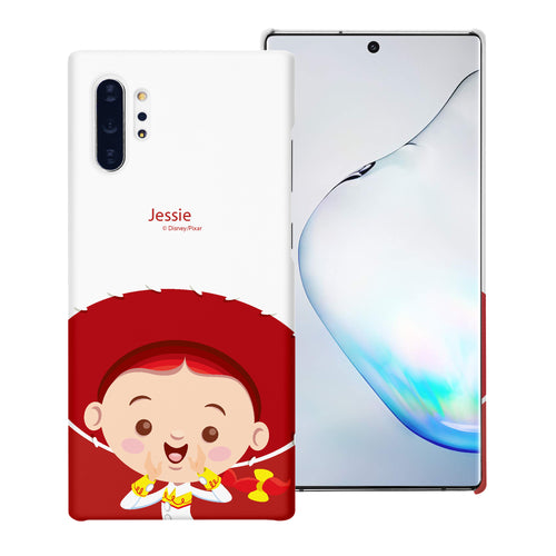 Galaxy Note10 Case (6.3inch) [Slim Fit] Toy Story Thin Hard Matte Surface Excellent Grip Cover - Baby Jessie