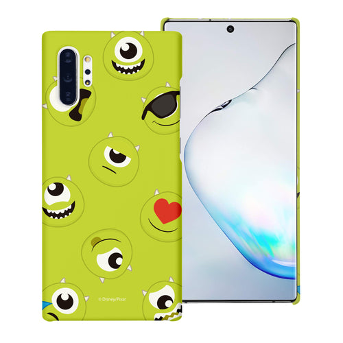 Galaxy Note10 Case (6.3inch) [Slim Fit] Monsters University inc Thin Hard Matte Surface Excellent Grip Cover - Pattern Mike