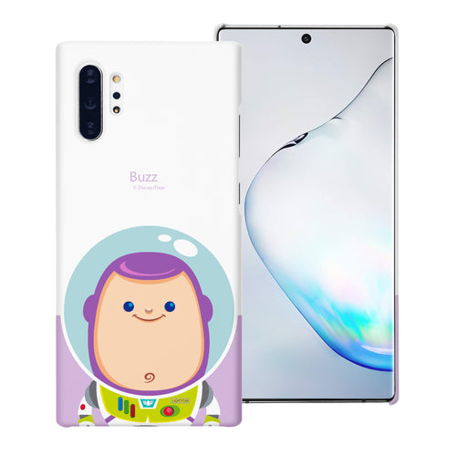 Galaxy Note10 Case (6.3inch) [Slim Fit] Toy Story Thin Hard Matte Surface Excellent Grip Cover - Baby Buzz