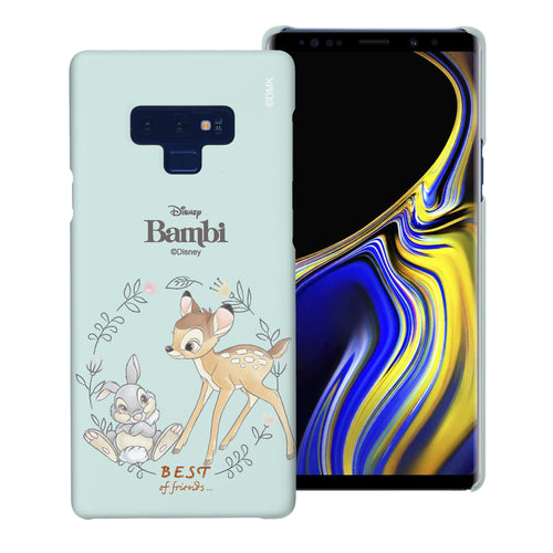 Galaxy Note9 Case [Slim Fit] Disney Bambi Thin Hard Matte Surface Excellent Grip Cover - Full Bambi Thumper