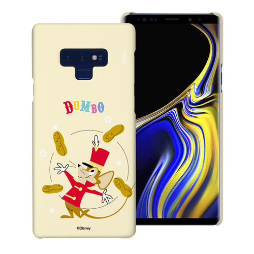 Galaxy Note9 Case [Slim Fit] Disney Dumbo Thin Hard Matte Surface Excellent Grip Cover - Dumbo Timothy