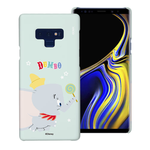 Galaxy Note9 Case [Slim Fit] Disney Dumbo Thin Hard Matte Surface Excellent Grip Cover - Dumbo Candy