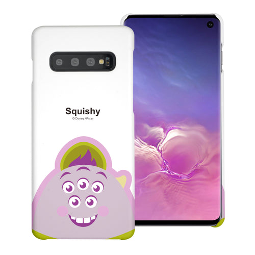 Galaxy S10 Plus Case (6.4inch) [Slim Fit] Monsters University inc Thin Hard Matte Surface Excellent Grip Cover - Big Squishy