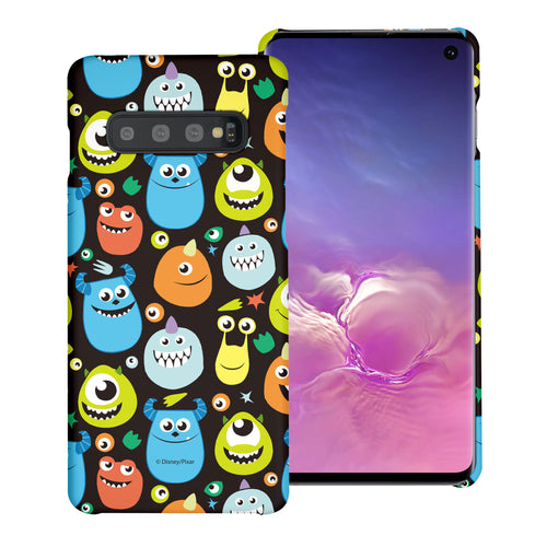 Galaxy S10 Case (6.1inch) [Slim Fit] Monsters University inc Thin Hard Matte Surface Excellent Grip Cover - Icon Monsters