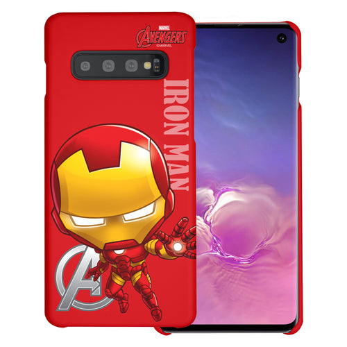 Galaxy S10 5G Case (6.7inch) Marvel Avengers [Slim Fit] Thin Hard Matte Surface Excellent Grip Cover - Mini Iron Man