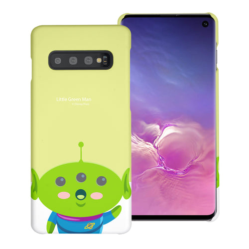 Galaxy S10 Plus Case (6.4inch) [Slim Fit] Toy Story Thin Hard Matte Surface Excellent Grip Cover - Baby Alien