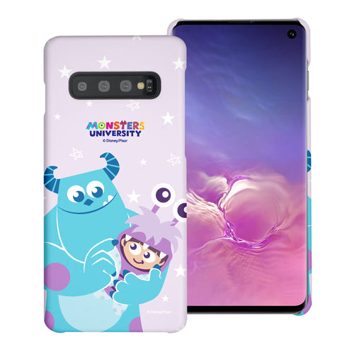 Galaxy S10 Case (6.1inch) [Slim Fit] Monsters University inc Thin Hard Matte Surface Excellent Grip Cover - Full Boo