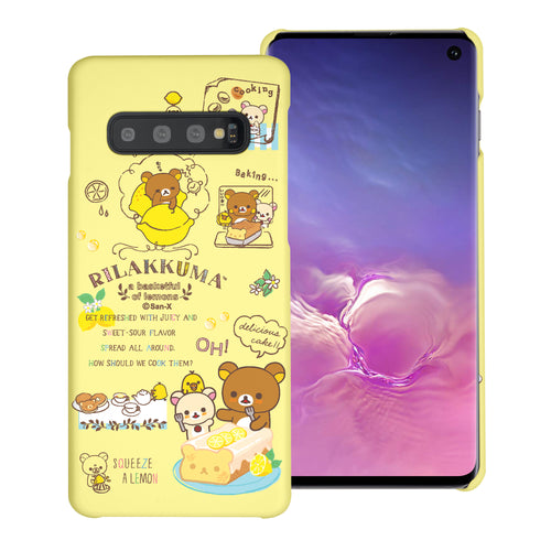 Galaxy Note8 Case [Slim Fit] Rilakkuma Thin Hard Matte Surface Excellent Grip Cover - Rilakkuma Cooking