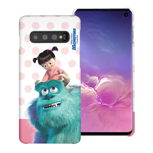 Galaxy S10 Case (6.1inch) [Slim Fit] Monsters University inc Thin Hard Matte Surface Excellent Grip Cover - Movie Boo