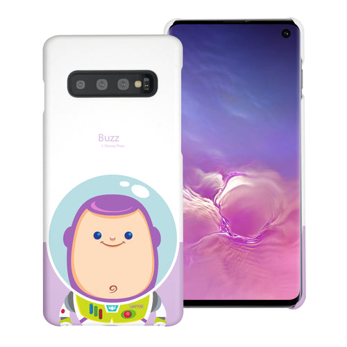 Galaxy S10 Plus Case (6.4inch) [Slim Fit] Toy Story Thin Hard Matte Surface Excellent Grip Cover - Baby Buzz