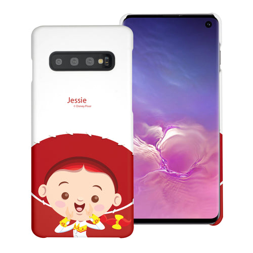 Galaxy S10 Plus Case (6.4inch) [Slim Fit] Toy Story Thin Hard Matte Surface Excellent Grip Cover - Baby Jessie