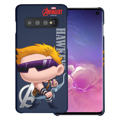 Galaxy S10 5G Case (6.7inch) Marvel Avengers [Slim Fit] Thin Hard Matte Surface Excellent Grip Cover - Mini Hawkeye