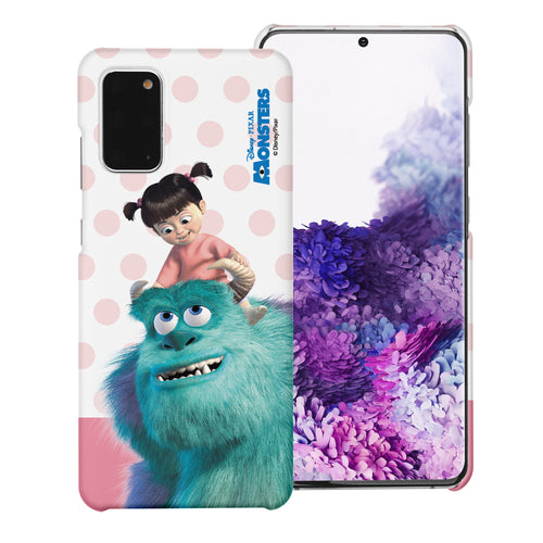 Galaxy Note20 Case (6.7inch) [Slim Fit] Monsters University inc Thin Hard Matte Surface Excellent Grip Cover - Movie Boo