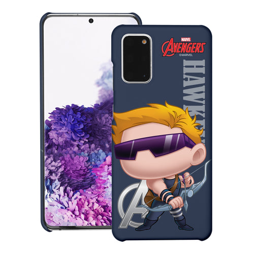 Galaxy Note20 Case (6.7inch) Marvel Avengers [Slim Fit] Thin Hard Matte Surface Excellent Grip Cover - Mini Hawkeye