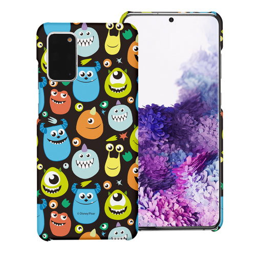 Galaxy Note20 Case (6.7inch) [Slim Fit] Monsters University inc Thin Hard Matte Surface Excellent Grip Cover - Icon Monsters