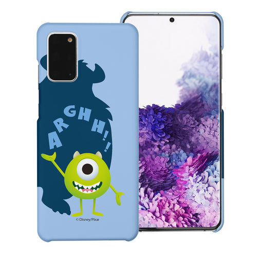 Galaxy Note20 Case (6.7inch) [Slim Fit] Monsters University inc Thin Hard Matte Surface Excellent Grip Cover - Simple Mike