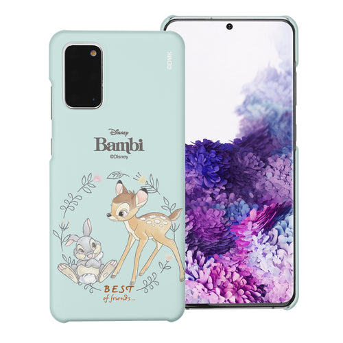 Galaxy Note20 Case (6.7inch) [Slim Fit] Disney Bambi Thin Hard Matte Surface Excellent Grip Cover - Full Bambi Thumper