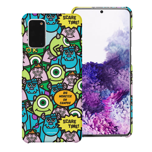Galaxy Note20 Case (6.7inch) [Slim Fit] Monsters University inc Thin Hard Matte Surface Excellent Grip Cover - Pattern Face