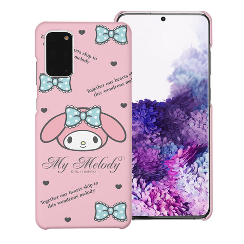 Galaxy S20 Ultra Case (6.9inch) [Slim Fit] Sanrio Thin Hard Matte Surface Excellent Grip Cover - Icon My Melody
