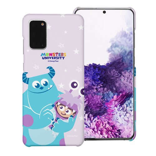 Galaxy Note20 Case (6.7inch) [Slim Fit] Monsters University inc Thin Hard Matte Surface Excellent Grip Cover - Full Boo