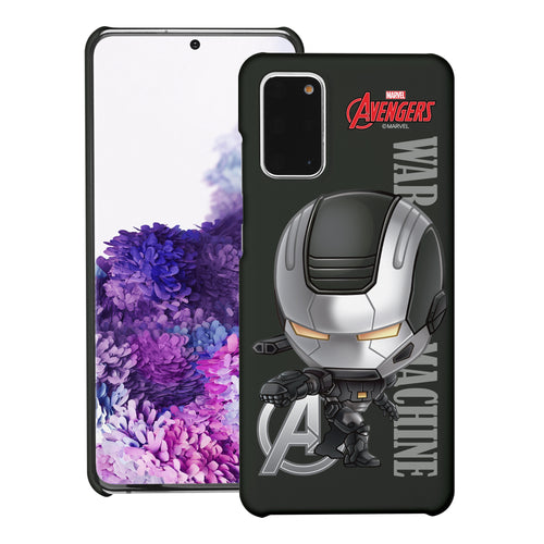 Galaxy Note20 Ultra Case (6.9inch) Marvel Avengers [Slim Fit] Thin Hard Matte Surface Excellent Grip Cover - Mini War Machine