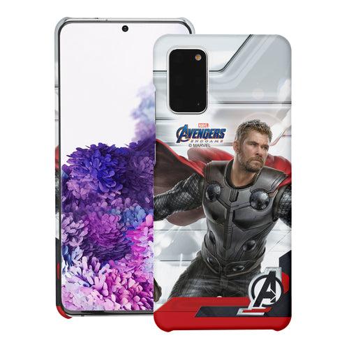 Galaxy Note20 Ultra Case (6.9inch) Marvel Avengers [Slim Fit] Thin Hard Matte Surface Excellent Grip Cover - End Game Thor