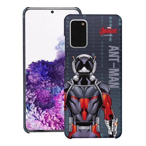 Galaxy S20 Case (6.2inch) Marvel Avengers [Slim Fit] Thin Hard Matte Surface Excellent Grip Cover - Back Ant Man