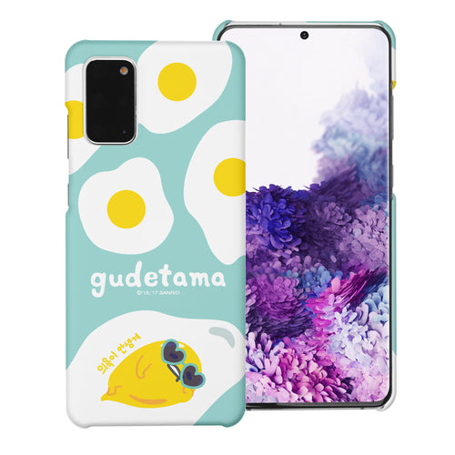 Galaxy S20 Ultra Case (6.9inch) [Slim Fit] Sanrio Thin Hard Matte Surface Excellent Grip Cover - Rest Gudetama Mint