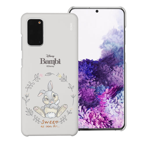 Galaxy Note20 Case (6.7inch) [Slim Fit] Disney Bambi Thin Hard Matte Surface Excellent Grip Cover - Full Thumper
