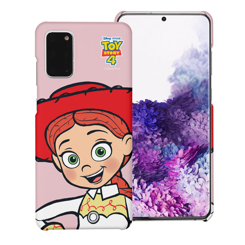 Galaxy Note20 Case (6.7inch) [Slim Fit] Toy Story Thin Hard Matte Surface Excellent Grip Cover - Wide Jessie