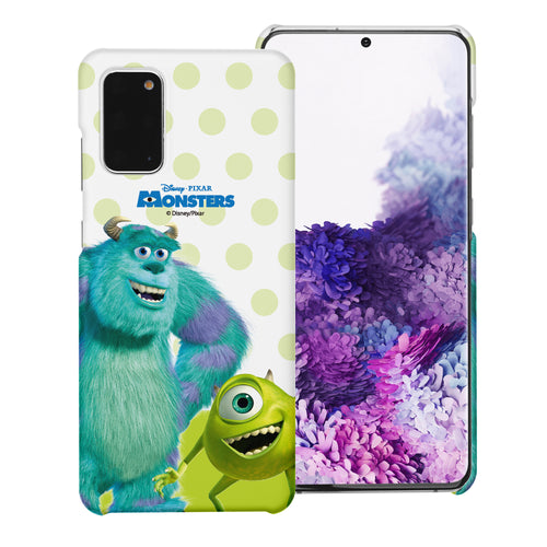 Galaxy Note20 Case (6.7inch) [Slim Fit] Monsters University inc Thin Hard Matte Surface Excellent Grip Cover - Movie Mike Sulley