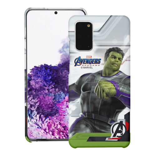 Galaxy S20 Case (6.2inch) Marvel Avengers [Slim Fit] Thin Hard Matte Surface Excellent Grip Cover - End Game Hulk