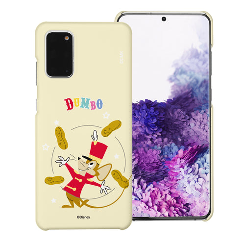 Galaxy S20 Ultra Case (6.9inch) [Slim Fit] Disney Dumbo Thin Hard Matte Surface Excellent Grip Cover - Dumbo Timothy