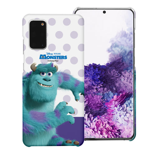 Galaxy Note20 Case (6.7inch) [Slim Fit] Monsters University inc Thin Hard Matte Surface Excellent Grip Cover - Movie Sulley