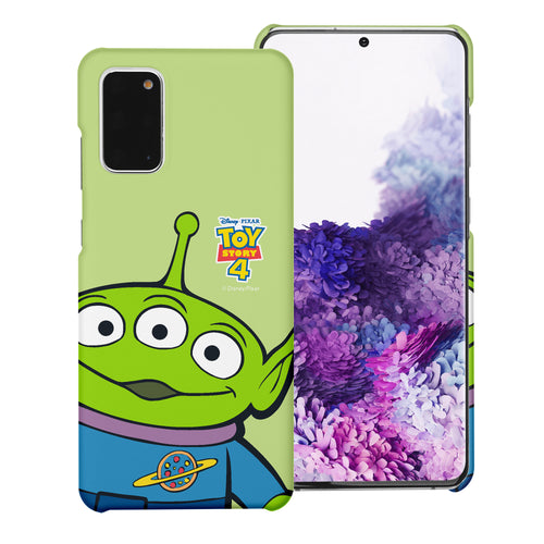 Galaxy Note20 Case (6.7inch) [Slim Fit] Toy Story Thin Hard Matte Surface Excellent Grip Cover - Wide Alien