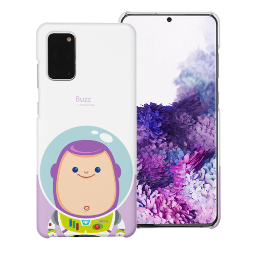 Galaxy Note20 Case (6.7inch) [Slim Fit] Toy Story Thin Hard Matte Surface Excellent Grip Cover - Baby Buzz