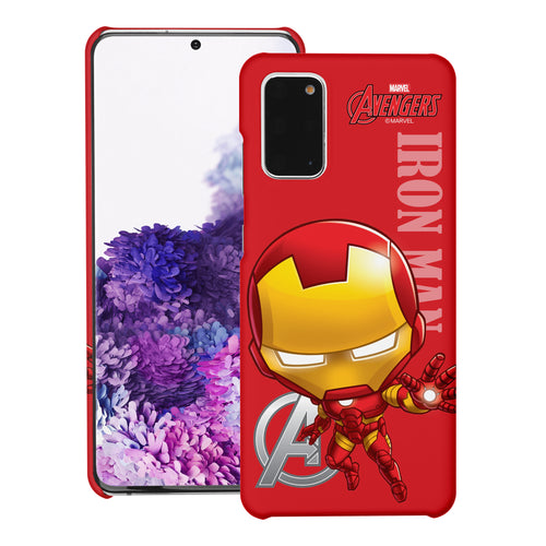 Galaxy S20 Case (6.2inch) Marvel Avengers [Slim Fit] Thin Hard Matte Surface Excellent Grip Cover - Mini Iron Man