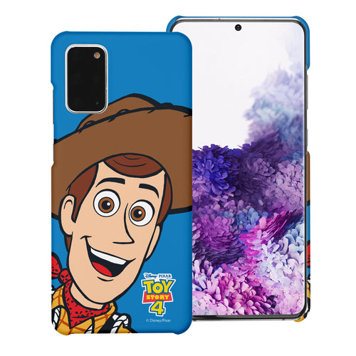Galaxy Note20 Case (6.7inch) [Slim Fit] Toy Story Thin Hard Matte Surface Excellent Grip Cover - Wide Woody