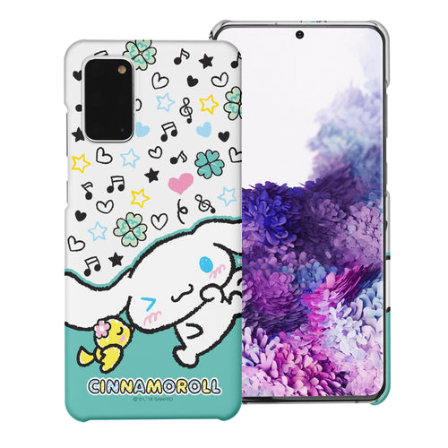Galaxy S20 Ultra Case (6.9inch) [Slim Fit] Sanrio Thin Hard Matte Surface Excellent Grip Cover - Kiss Cinnamoroll