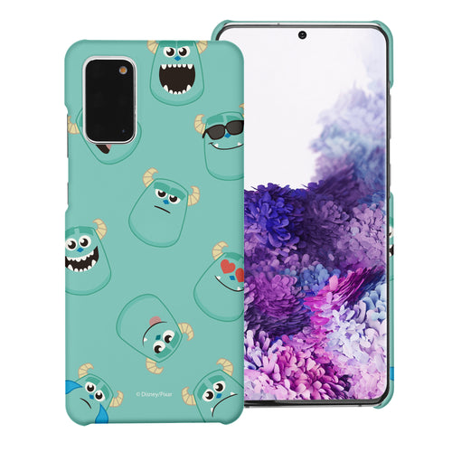Galaxy Note20 Case (6.7inch) [Slim Fit] Monsters University inc Thin Hard Matte Surface Excellent Grip Cover - Pattern Sulley